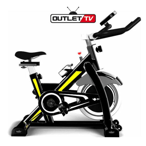 Bicicleta Estática Spinning Topfit Spinbike Corleone 18 Kg