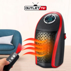 Calentador Eléctrico Wonder Warm Portátil 400w Temporizador