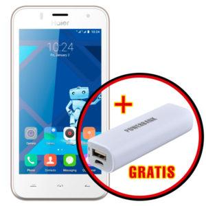 Celular Haier L32 Doble Simcard 4G LTE Memoria 8GB 4 Nucleos Blanco