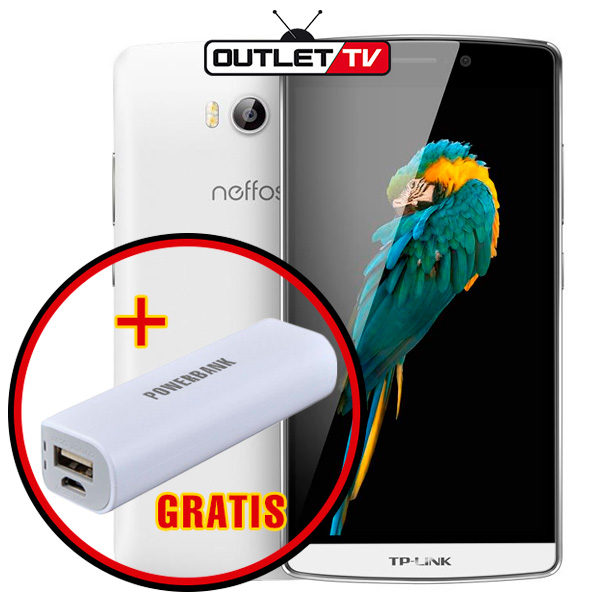Celular Neffos TP-Link tp701c Banda 4 LTE Doble Camara Blanco