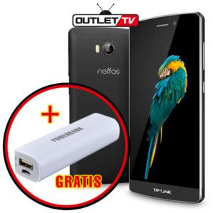 Celular Neffos TP-Link tp701c Banda 4 LTE Doble Camara Negro