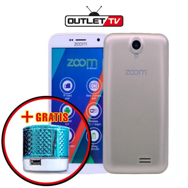 Celular Zoom Magnetic 5 Pulgadas Doble Camara Doble Sim 8GB + Reproductor MP3