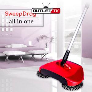 Escoba Barredora Spin Escoba Aspiradora Sweep Drag All-in-one