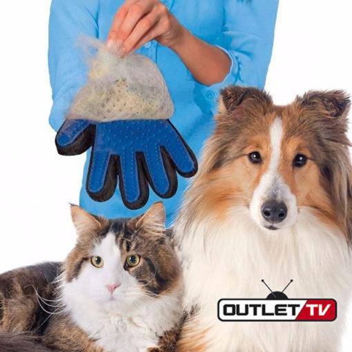 Guantes para Peinar Perros y Gatos