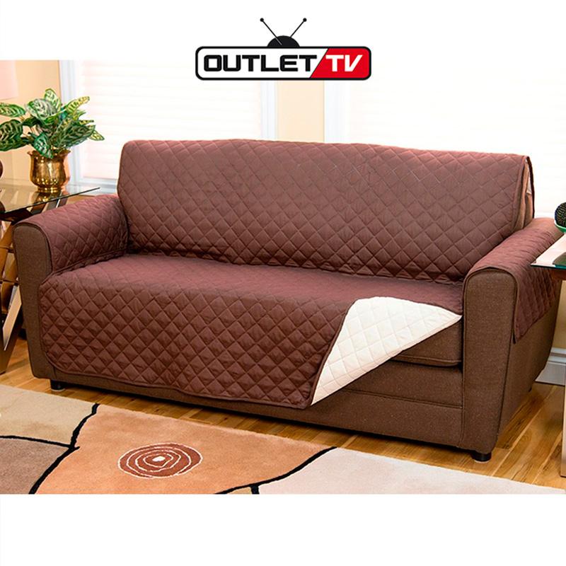 Protector de sof muebles 2 puestos perros gatos forro for Outlet muebles hogar