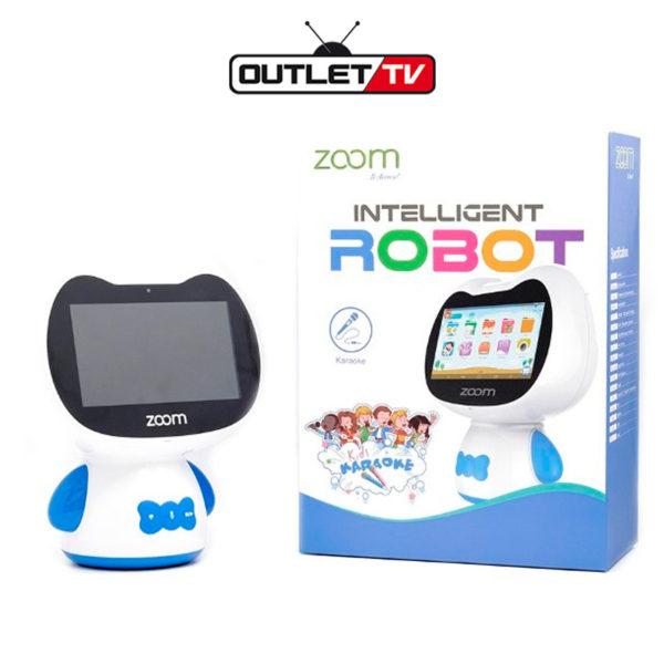 Robot Inteligente Karaoke Zoom para Niños Zumi