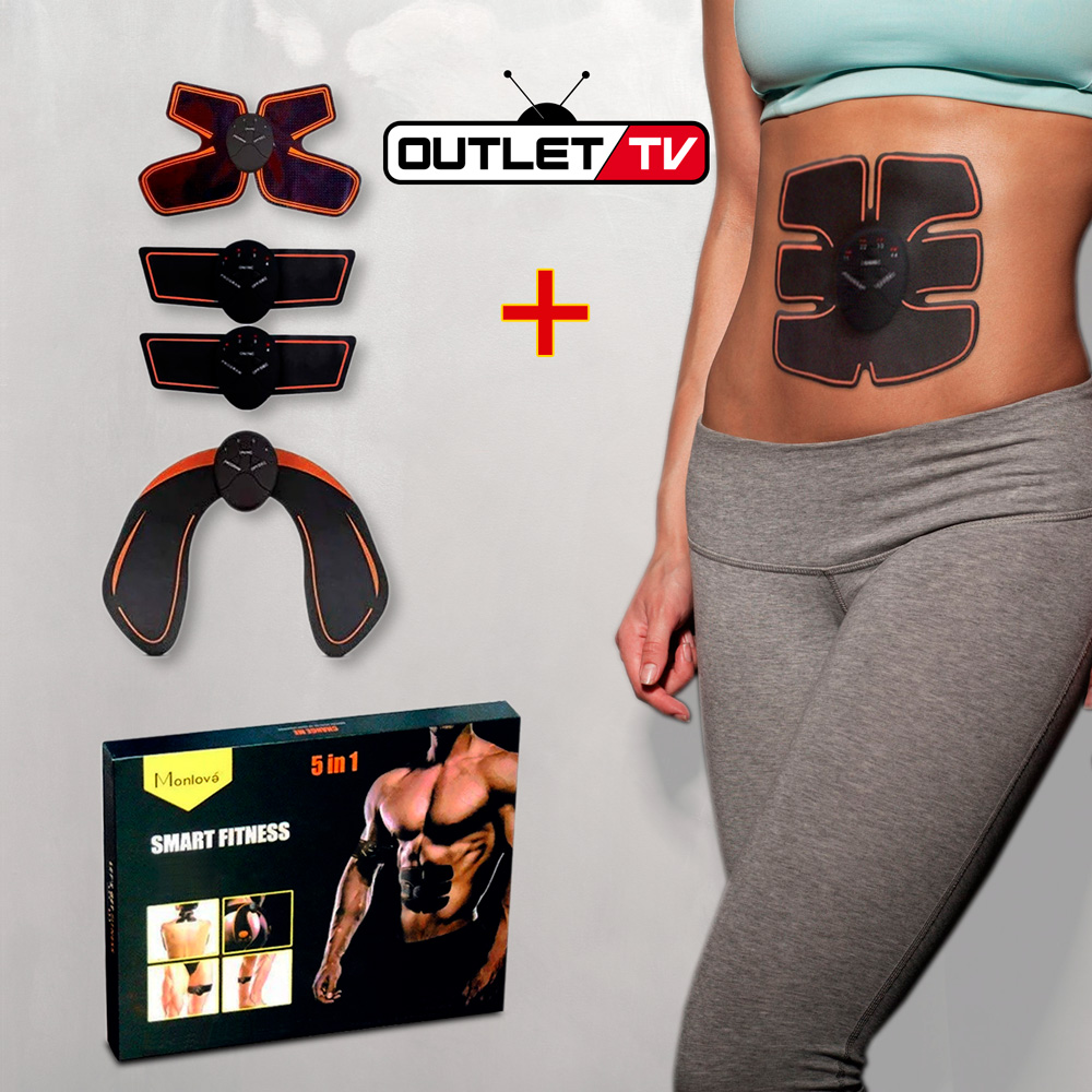 Smart Fitness Series 5 En 1 Electroestimulador Gimnasia Pasiva Outlet Tv Colombia
